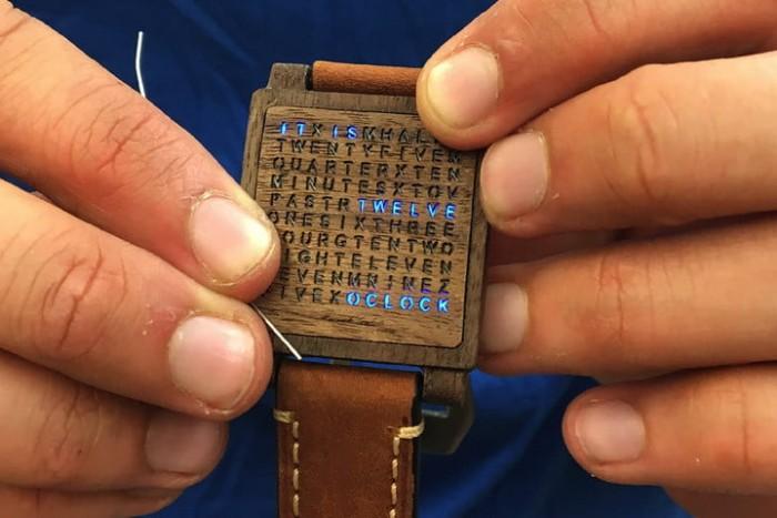 它没数字也没指针 但它确实是块表