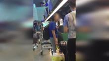 行李超重拒付钱 女子怒喊:我是贵宾欸
