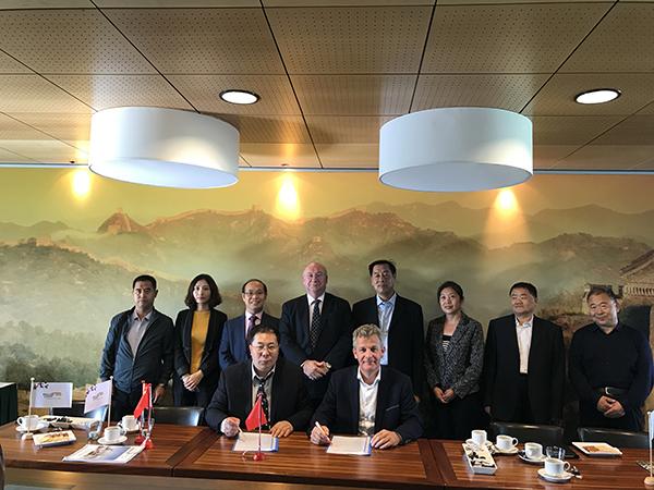 河北省商务厅一行访荷 愿加强与荷兰企业界携手合作