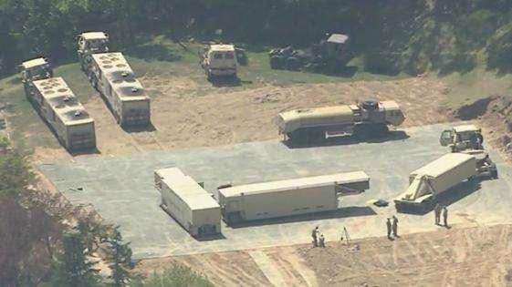 """韩媒:韩或在本周追加部署剩余""""萨德""""发射车"""