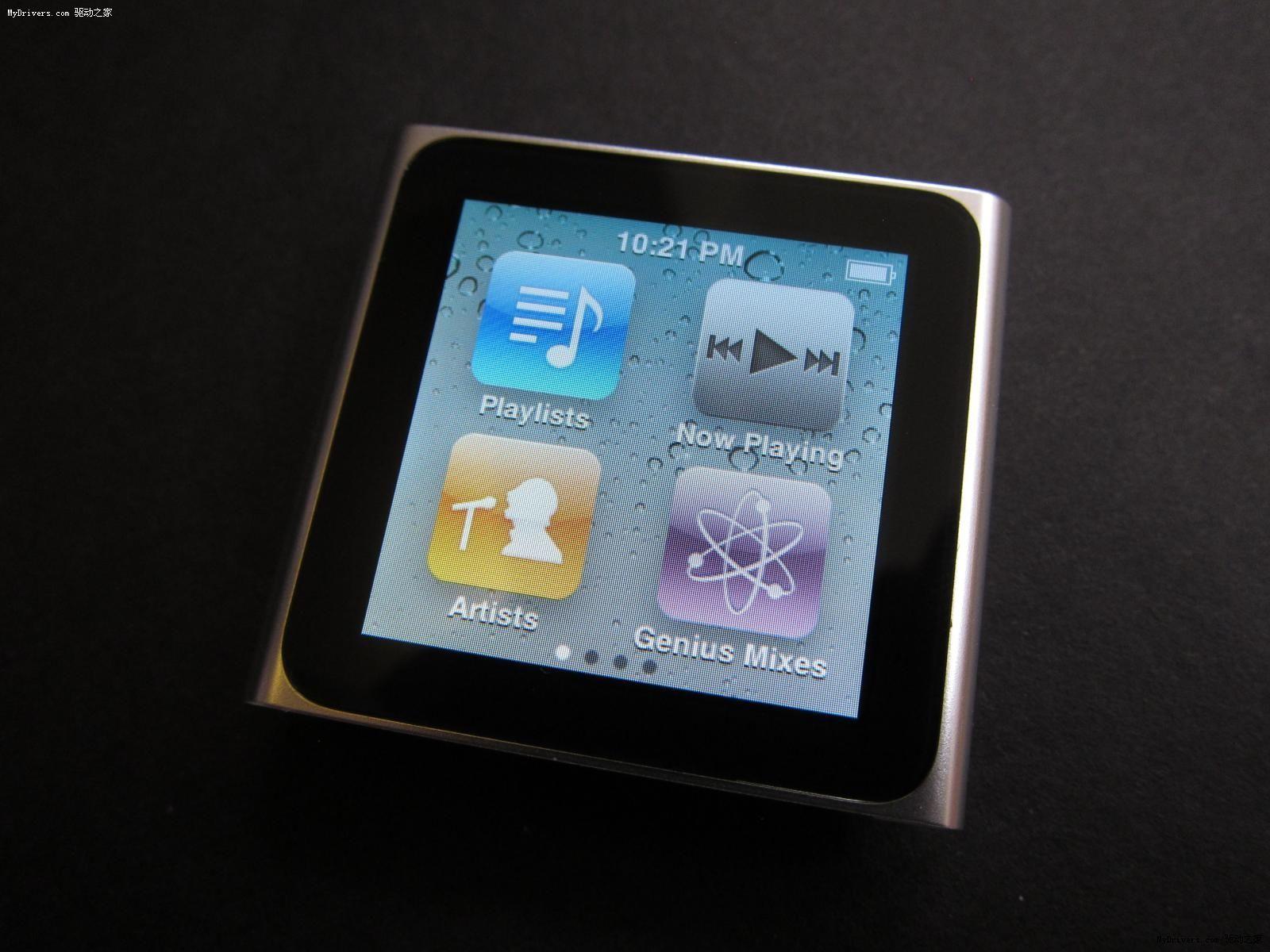 不禁唏嘘!苹果iPod nano 6正式退出历史舞台