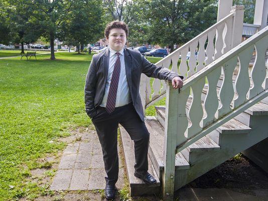 英雄出少年:美国13岁少年宣布参选佛蒙特州长