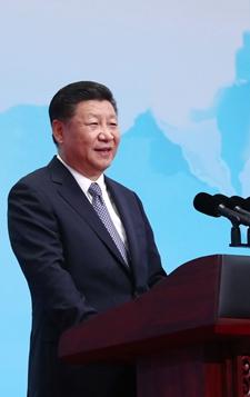9月3日,习近平在金砖国家工商论坛开幕式上发表主旨演讲