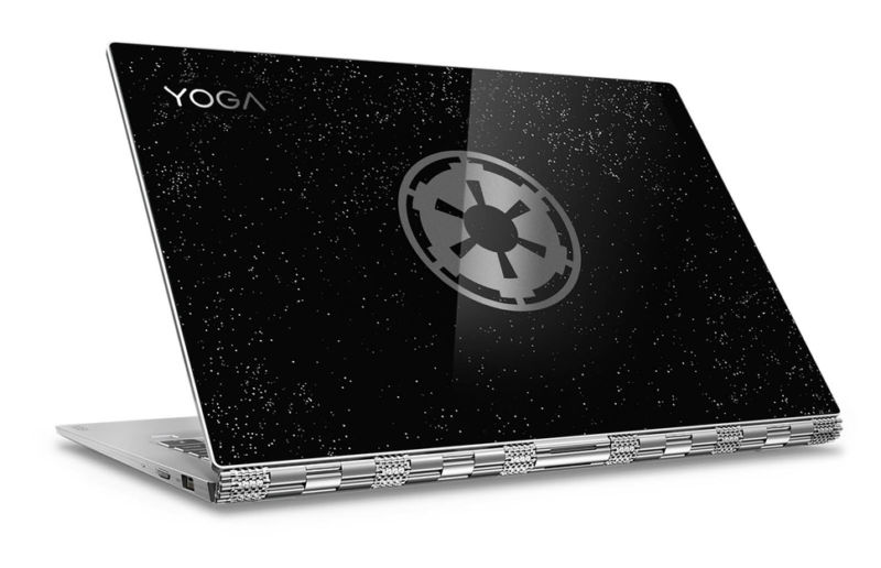 更轻更薄更快!联想发布星战版Yoga 920