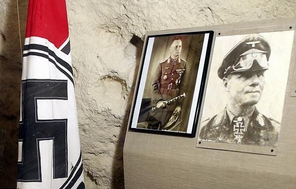 埃及纳粹德国名将隆美尔洞穴博物馆重新开放