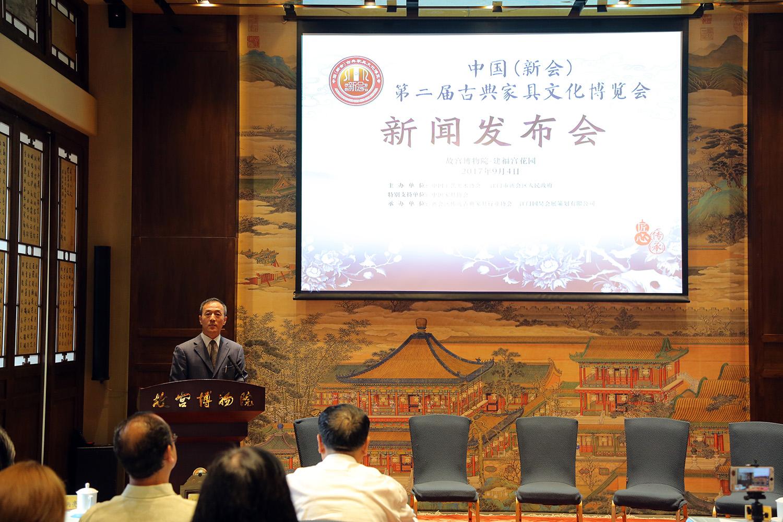 """广东新会:响应""""一带一路""""倡议  探寻古典家具文化新机遇"""