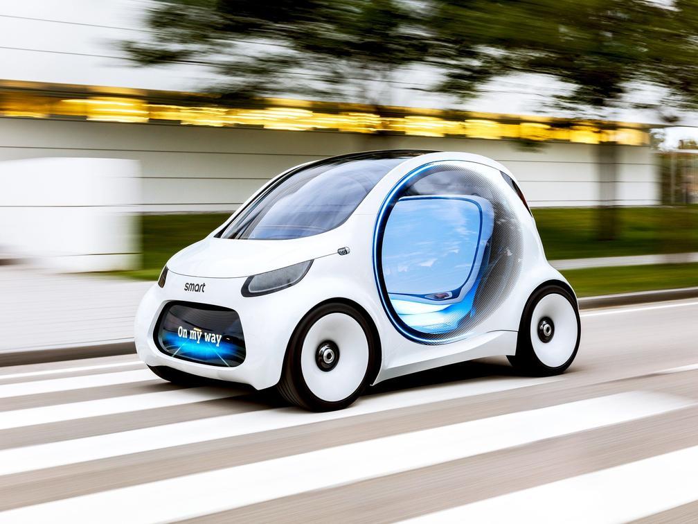 没踏板没方向盘!大众将推出微型无人驾驶汽车