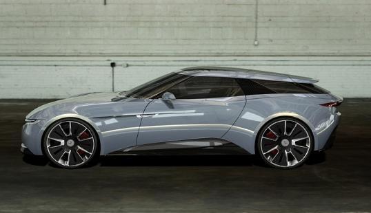 借鉴自 Lucid Motors 和阿斯顿?马丁的碳纤维车身。