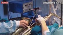 美教师边开颅边吹萨克斯 3D科普这样手术疼不疼