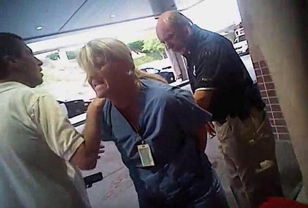 美国一护士按规定拒绝为昏迷病患抽血遭警方拘留