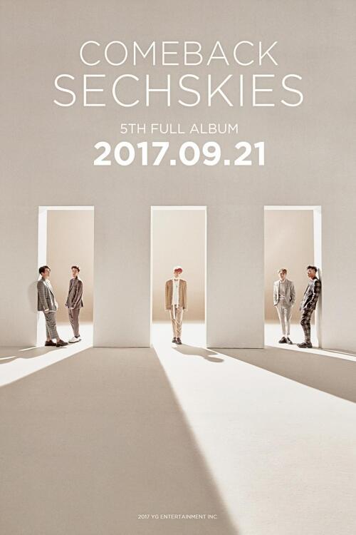 韩男团水晶男孩将回归乐坛 暌违18年发行正规五辑