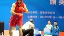 全运会散打惊现2秒KO夺冠 一腿踢翻对手
