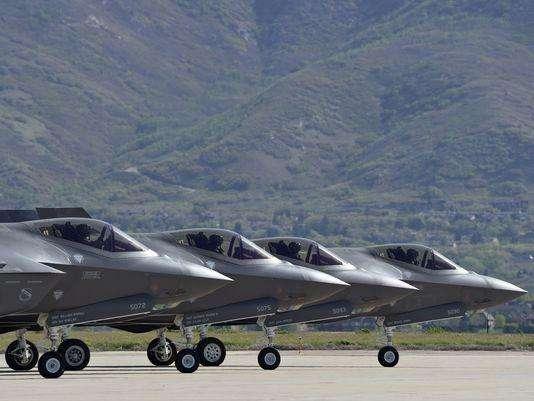 美媒:美军F35A加紧进驻太平洋基地 中国要小心