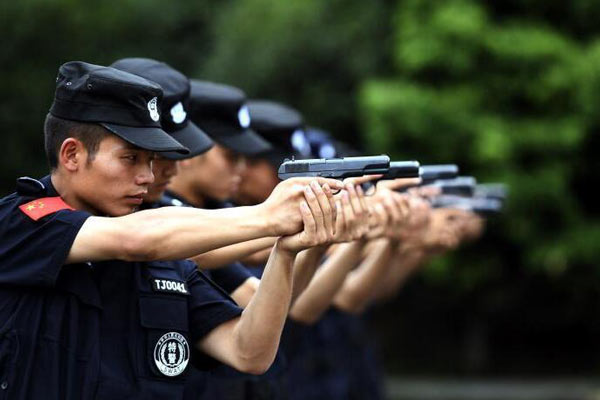 直击四川省雅安监狱特警队