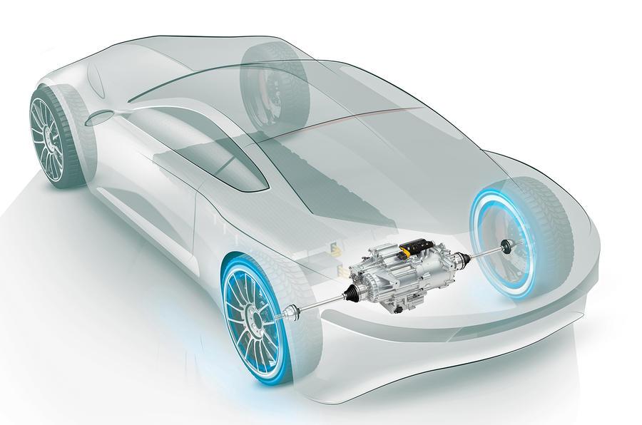 吉凯恩公布新一代轻量级电动汽车动力总成