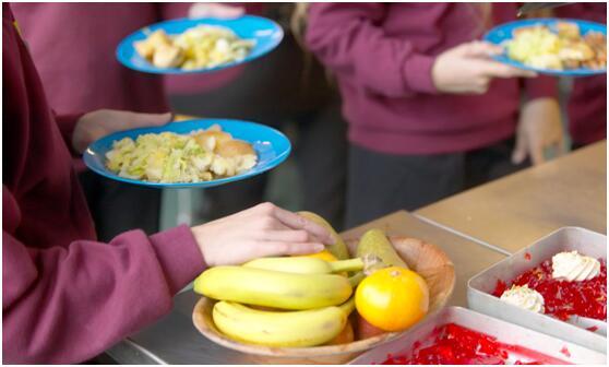 英国学生食堂免费提供果蔬 检测显示农药残留量高