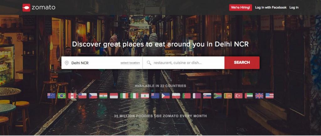 印度美食订餐平台Zomato欲从阿里融资2亿美元