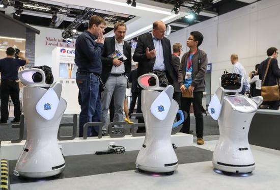 """日媒:中国有望在服务型机器人领域""""逆袭""""日本!"""