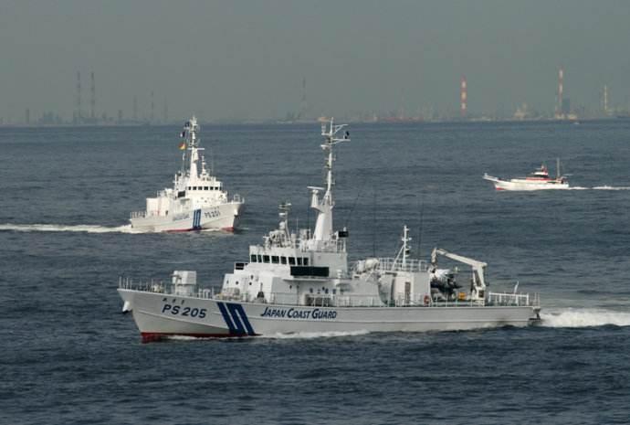日海保将练压制中国船只 被指擦枪走火概率加大