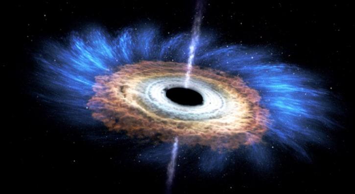 科学家发现超级大黑洞 质量或比太阳大10万倍