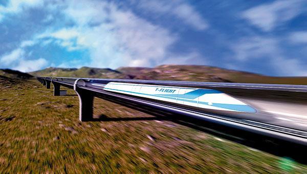 时速4000公里高铁背后 中国七八个项目组研究磁浮