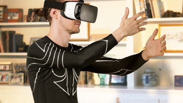 电子皮肤衣能联网识别动作 把身体变成控制器