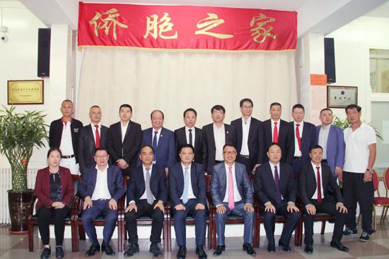法国华侨华人会热情接待云南省海外交流协会代表团