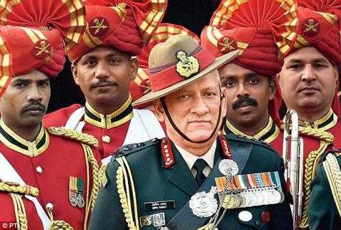 印军高官鼓吹与中巴两线作战 意为陆军争资源