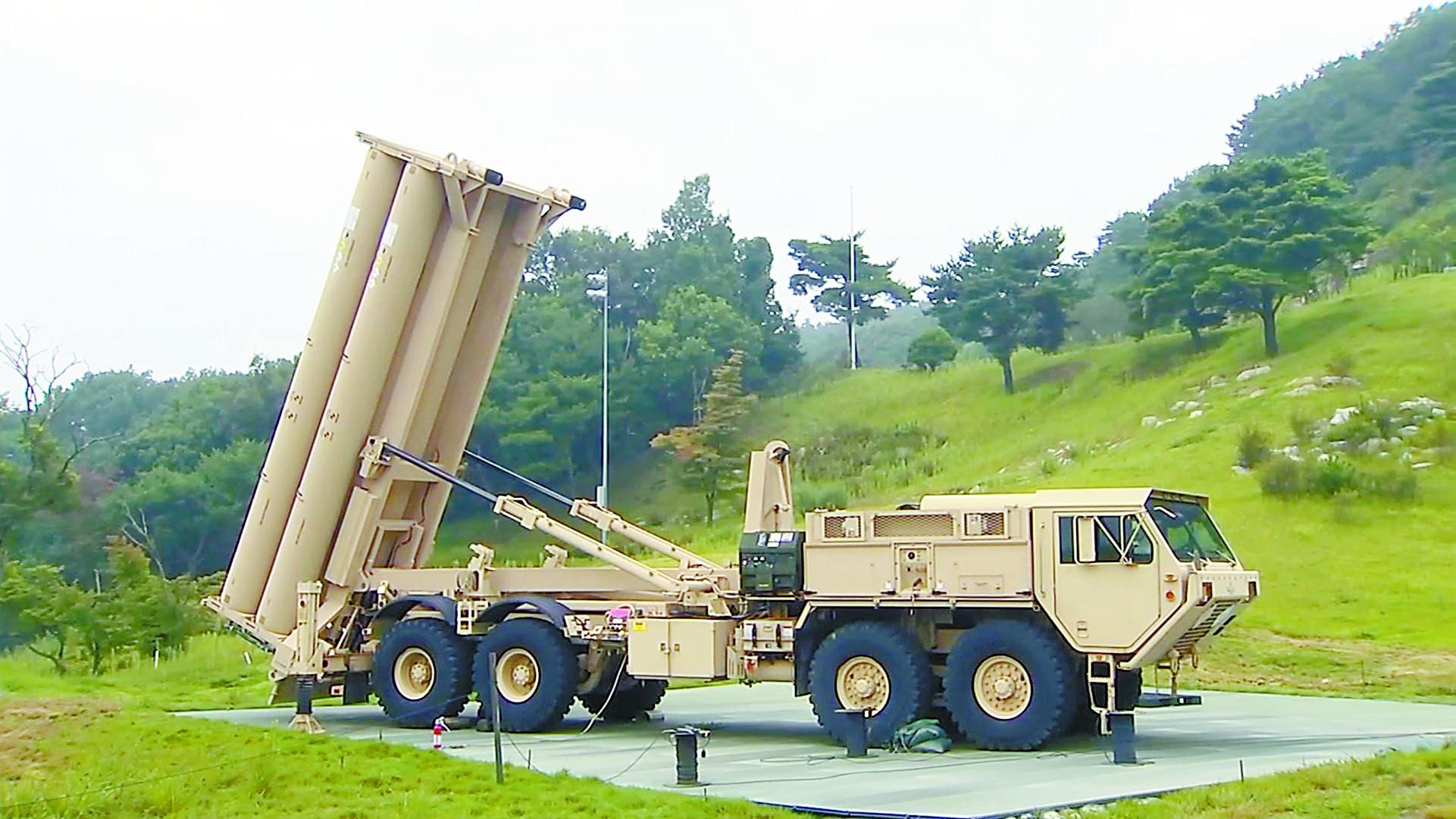 导弹--美韩补齐萨德威胁有多大?可探测华北导弹发射