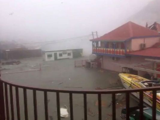 强劲飓风艾玛将登陆美国 竟触发地震监测仪