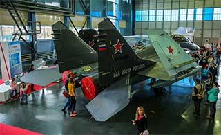 俄罗斯国防展米格29K随便看