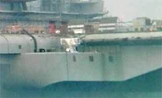 在建国产航母装载武器清晰图
