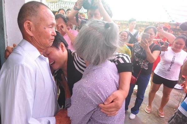 广西女子16岁被卖至河北 30年后回家认亲