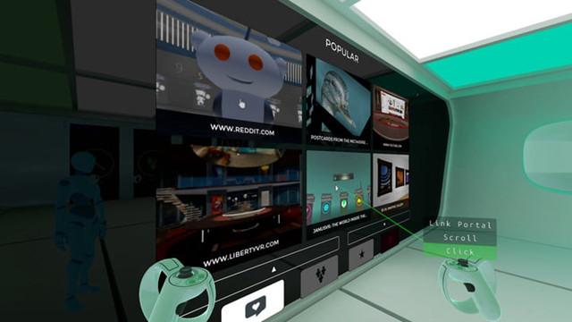 用VR头显看网页到底是酷还是自己找罪受?