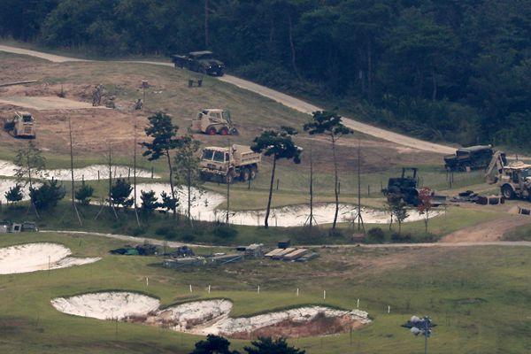 韩媒:驻韩美军萨德发射车临时部署接近尾声