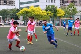一带一路各国留学生闪耀一球城名赛场,中外球员兄弟情深