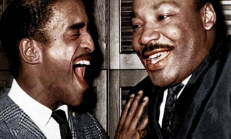 美国黑人民权�9b�_黑白照上色现美国黑人权运动经典时刻