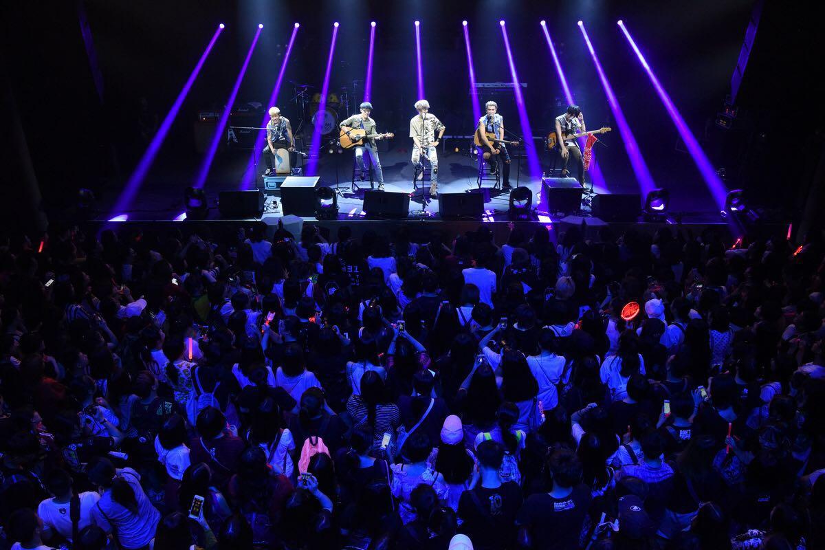 八三夭生日趴趴趴巡回演唱会上海站两晚连续作战热血翻天