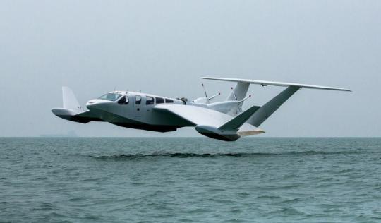 希望可带你在水上飞的地效翼船能尽早商用