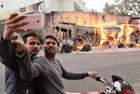 印度人震撼的自拍现场