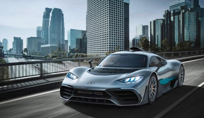 梅赛德斯AMG公布Project One:公路上的F1赛车