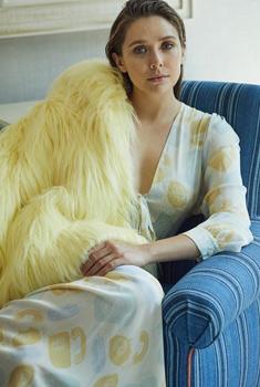 女星伊丽莎白·奥尔森杂志写真