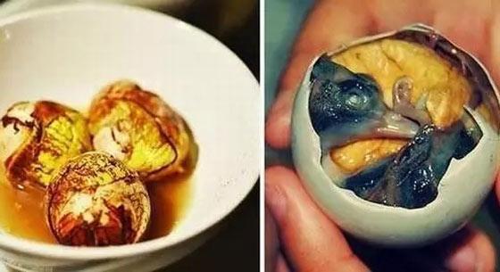 台湾人亲历大陆怪异小吃:鸭仔蛋挑战心理极限