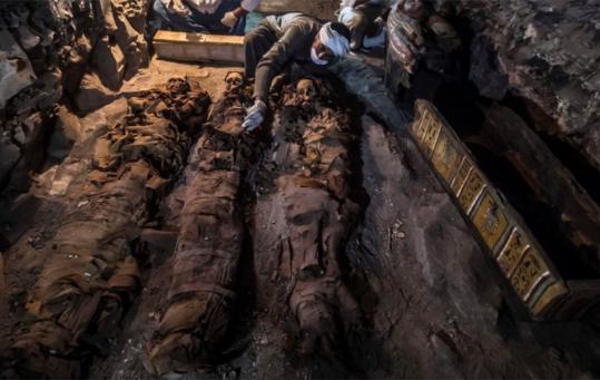 考古学家发现古埃及皇家金匠之墓