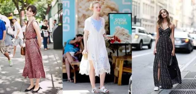 搭配|想要最时髦的少女感?连衣裙平底鞋这对CP你得站定了!
