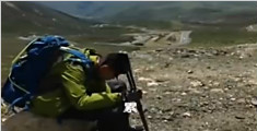 四川父子徒步到西藏 耗时50天翻越12座高山