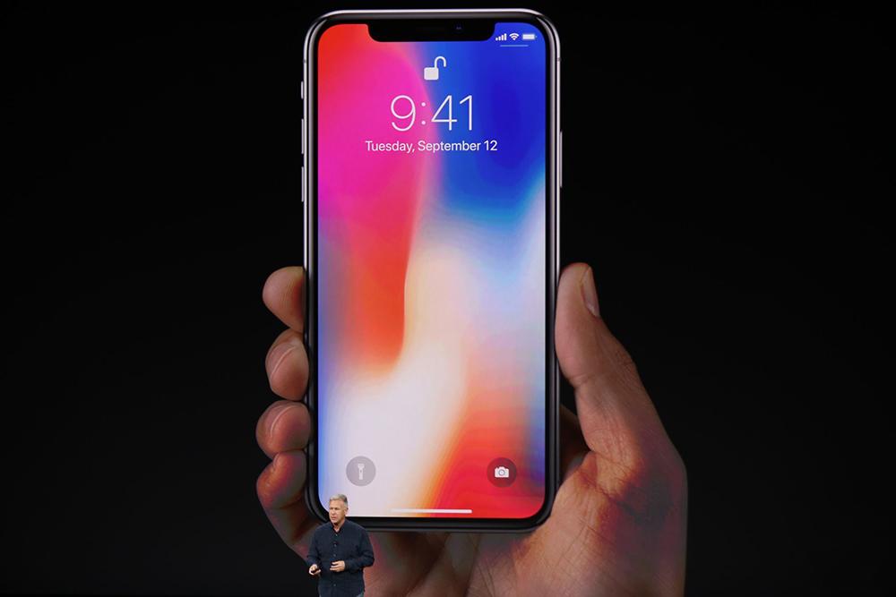 史上最贵 苹果发布十周年纪念款iPhone X手机