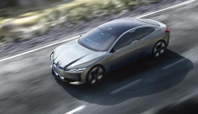 宝马发布全新豪华电动概念跑车i Vision Dynamics