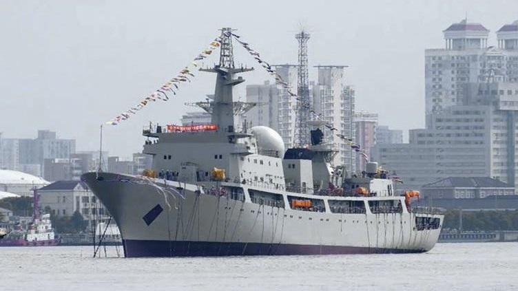 简氏:中国下水第7艘815A型侦察船 未来会造更多