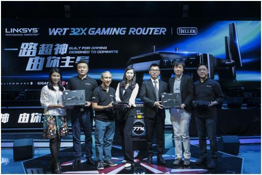 Linksys WRT32X游戏专属路由器正式登陆中国